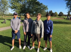 Boys Golf at Spring Lakes